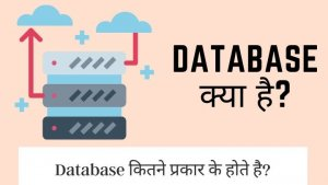 डेटाबेस क्या है? Database Kya Hai? | Types Of Database in Hindi?