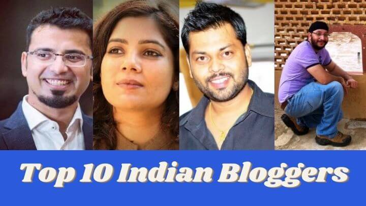 TOP 10 Indian Bloggers of 2021 in Hindi | Earning के आधार पर Top 10 इंडियन ब्लॉगर