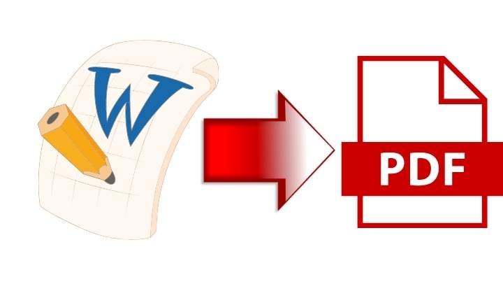 How to convert word file to pdf file for free in a second